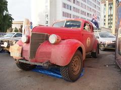 1939 - Chevrolet Master Coupe (Jasonito) Tags: paris classic car russia rally olympus retro oldtimer motor  omsk challenge peking 6th omd the 2016    em5   parispeking beijingparis   panasonic14140mmf4058 omdem5