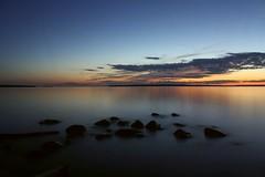Jupiter in July (~Jim Peacock~) Tags: summer wisconsin nationalpark dusk july planet jupiter lakesuperior apostleislands