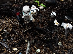 The Last Stormtrooper (The Spar7an) Tags: lego starwars military stormtrooper