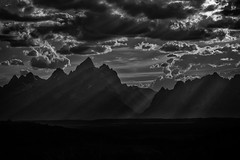 Grand Tetons B+W-1 (Patrick Gregerson) Tags: grandtetons wyoming mountains nationalpark work