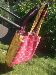 Bag by April Atwood (koalalady) Tags: totebag sproutpatterns spoonflower diamondpattern aprilatwood koalalady
