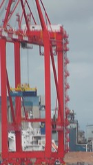Liverpool Two (New Deep Water Container Terminal STS Crane Trials / Test) 4th August 2016 (Cassini2008) Tags: portofliverpool liverpooltwo peelports liverpooldeepwatercontainerterminal rivermersey sts stscranes docks