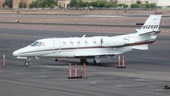 NetJets Cessna 560XL Citation Excel N625QS (ChrisK48) Tags: 2003 aircraft airplane cessna560xl citationexcel dvt kdvt n625qs netjets phoenixaz phoenixdeervalleyairport