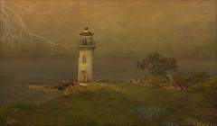 Tempest (ilyra.chardin) Tags: lighthouse ocean bay sea grassyknoll skiff storm lightning