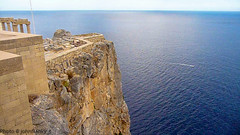 Lindos-Rodi (johnfranky_t) Tags: lindos rodi grecia castello castle rovine ruins ruinas mare blu sea