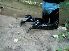IM003245 (hymerwaders) Tags: boots thigh overknee patent stiefel