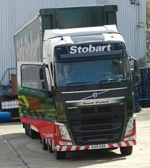 KX15NZR H4156 Eddie Stobart Volvo 'Hannah Elizabeth' (graham19492000) Tags: volvo eddie stobart hannahelizabeth eddiestobart kx15nzr h4156