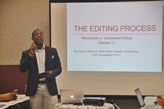 Really enjoying copy editing workshop by Dwain Esmond (Lee Bennett) Tags: georgia hilton meeting seminar workshop speaker savannah lecture edit day89 presenter esmond dwain 365daysofhappy hiltongardeninnsavannahhistoricdistrict