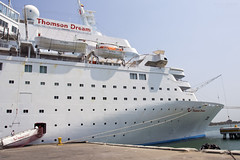 Thomson Dream Cartagena Colombia 13/03/2015 (Paul-Green) Tags: cruise holiday canon march colombia mark dream ii thomson 7d mk2 cartagena liner 2015