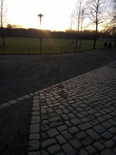 Abends in den Park