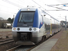 SNCF X76569/70 at Marquise Rinxent