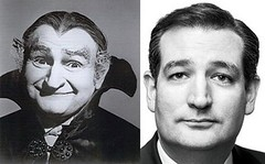 Separated at Birth? (The Goat Whisperer) Tags: ted al twins birth lewis grandpa cruz munster separated