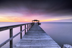 BE (dK.i photography) Tags: longexposure sunrise dawn pier spring shadyside sunday maryland pastels stacked chesapeakebay gnd leefilters scenicsnotjustlandscapes singhrayfilters rgnd edwardkreis dkiphotography littlestopper