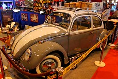 Volkswagen Coccinelle (seb !!!) Tags: auto old brown white paris france cars blanco car festival branco vw canon germany volkswagen de deutschland photo au