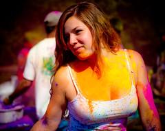 Beautiful Holi Girl HD Wallpaper - Stylish HD Wallpapers (StylishHDwallpapers) Tags: girls beautiful holidays indian festivals holi
