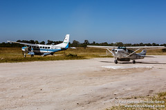 Khwai Landing Strip In The Okavango Delta, Botswana