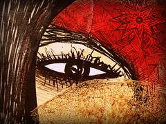 (catarsis de bruja bella) (Felipe Smides) Tags: naturaleza mujer sangre pintura sequía bruja humedad smides felipesmides