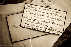 Hand-written Card (the_light_house_photography) Tags: handwriting letters cursive warletters
