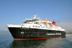 MV CALEDONIAN ISLES, departing Ardrossan (Time Out Images) Tags: ferry scotland united north kingdom calmac isles mv caledonian ayrshire ardrossan