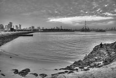 Marina Waves (Azarbhaijaan) Tags: sunset kuwait salmiya baghdadi pentaxk10d azharmunir drpanga