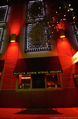 Ruth's Chris II (RRP Photography) Tags: nightphotography red nikon texas festivals restaurants tamron fortworth cowtown nightpictures mainstreetartsfestival metroplex fortworthmainstreetartsfestival borderfx d7000 tamron1024mm