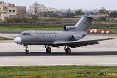 Angola Air Force --- Yakovlev Yak-40 --- T-450 (Drinu C) Tags: plane aircraft aviation military sony dsc mla yakovlev yak40 lmml t450 angolaairforce hx100v adrianciliaphotography