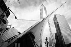Transportation Hub on its way (xpressbus) Tags: newyork us unitedstates 7worldtradecenter transportationhub oneworldtradecenter
