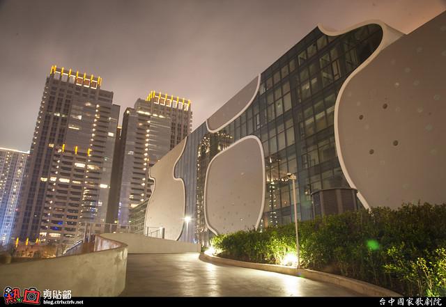 [攝影] 台中國家歌劇院夜景