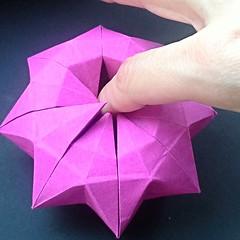 Finger eater pot (modular.dodecahedron) Tags: toshikazukawasaki origamibox