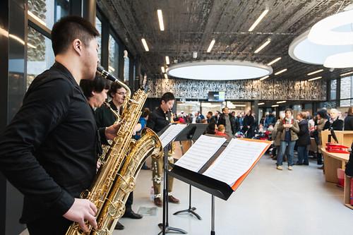 La fête a battu son plein le 11 avril dernier pour l'inauguration de ce nouvel équipement ©V. Salot