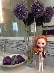 Blythe a Day #26 Flowers