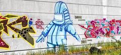 in bunt... und farbe (functionless.art) Tags: urban art canon lost deutschland 3d place kunst wallpaint mecklenburgvorpommern eos7d