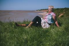144.366 Release (HelenHates Peas) Tags: selfportrait beach me self hill sit breathe selfie