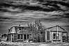 Keota (Rocky Lakes Photography / www.rockylakesphoto.com) Tags: sky blackandwhite abandoned landscape spring ruins scenery colorado outdoor may highcontrast ghosttown plains highplains keota weldcounty mattried historycoloradocenter highplainsghosts rockylakesphotography