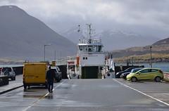 MV Hallaig at Raasay Pier (Russardo) Tags: skye island scotland pier mac cal isle calmac hebrides mv caledonian macbrayne raasay hallaig