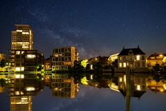 New Haarlem (l.cutolo) Tags: city haarlem water night reflections cityscape multipleexposure tlp starssky worldtrekker perfectreflections stackphotos sonyfe2470mmf40zaoss dhrlike