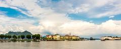 Borromean Islands (simonvaux1) Tags: italy lake isola bella water blue skies stresa milan northern ernest hemmingway sony rx100 iii raw simon vaux maggiore borromean