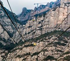 Tram to the top (CCBImages) Tags: barcelona travel spain europe montserrat 2015ccbimagescom 2016ccbimagescom