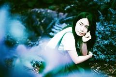(Mr.Sai) Tags: portrait film girl analog silver purple minolta taiwan taipei f2 58mm  xr 44 helios  x700 100400 m39    lomochrome