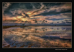 La marjal de Sueca espera l'ocs 41 (Sueca's marsh waiting for sunset 41) (Rafel Ferrandis) Tags: reflex hdr sueca marjal ocs eos5dmkii ef1635mmf4l