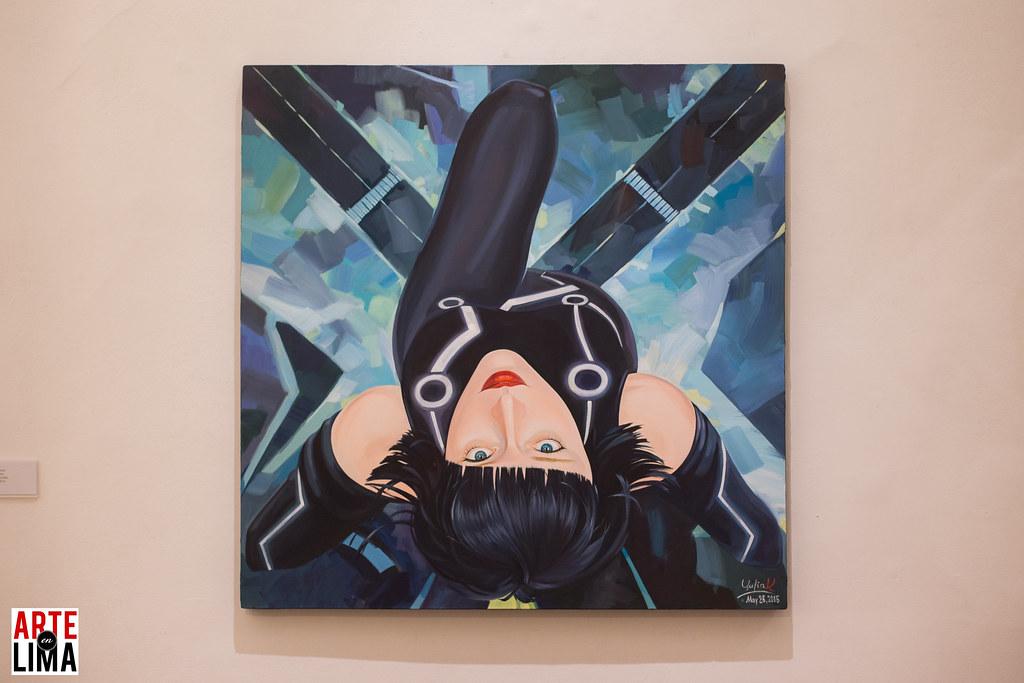 """""""Comics - Ciencia Ficción"""" en Galería Delbarrio - Yulia Katkova"""