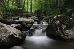 ~ rocky creek ~ (Lisa Holder NC) Tags: longexposure nature water creek waterfall rocks aqua scenic peaceful serene tranquil