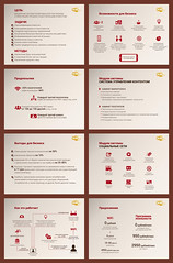 "Loyalty programs in the network ""Shokoladnitsa"" (infostep_infostep) Tags: illustration network presentation informationdesign infographics coffeehouses shokoladnitsa loyaltyprograms infostep wowfi"