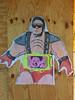 Street Art (IamJomo) Tags: streetart bethesda iphone jomo montgomerycounty takenwithaniphone iphoneography iphone6 kimjongun smallworldphotos jomophoto