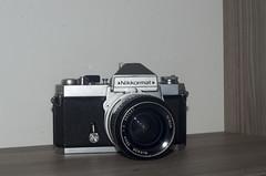 nikkormat__33 (maculatefoto) Tags: nikon nikkormat ft2 nikkor 28mm f2 lens japan old nippon kogaku allmetal mechanic metal