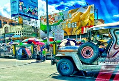 A riot of colors.... (tomk630) Tags: morning people hot colors philippines manila joyful jeepney