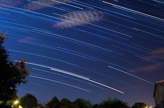 Summer stars rain (Tomislav C.) Tags: sky cloud nature night clouds stars star natural croatia astro rotation hr startrails naturally hrvatska startrail astrophotograhpy pentaxk01 primorskogoranskaupanija saroni