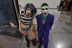 Phoenix Comicon 2016 Cosplay (V Threepio) Tags: costume cosplay posing cosplayer clowns 2016 thejoker phoenixcomicon phxcc
