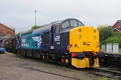 37 716 - Kidderminster (GreenHoover) Tags: severnvalleyrailway svr svrdiesel dieselgala dieselgala2016 diesellocomotive loco locomotive kidderminster class37 37716 drs directrailservices