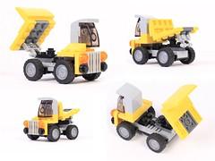 31014 - Giant Drump Truck (Gabor_Horvath) Tags: truck lego dump creator altmodel 31014